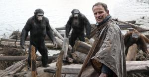 The war between apes and humans begin...but its battle at the box-office is different...