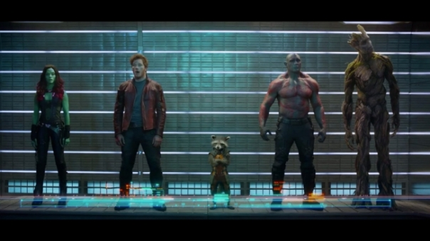 """We are the Guardians of the freakin' Galaxy"""