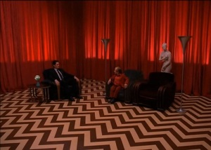 The infamous Red Room scene from Twin Peaks. One of many strange yet fascinating highlights in the series.