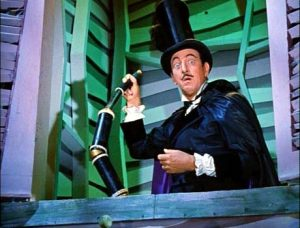 Ray Bolger as Barnaby, a role that hasn't been this over the top and iconic since his perfomace as Oz's Scarecrow