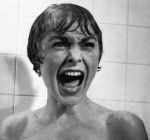 Janet Leigh in the infamous shower scene