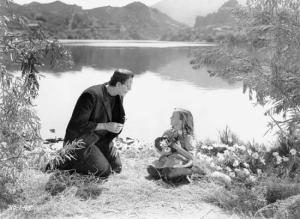 The infamous scene where the Monster interacts with a little girl. The second half was deemed too uspetting and was cut. Thankfully, it has been restored and still considered a famous moment.