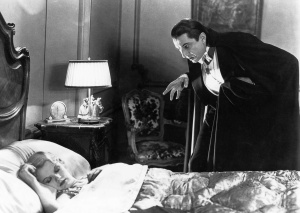 Bela Lugosi casts a spell on not just his victim but even the audience