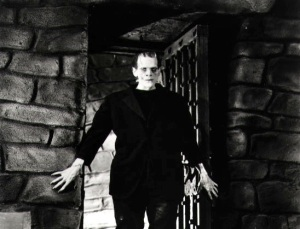 Boris Karloff as the iconic Monster