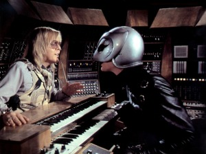 Phantom Winslow making a deal with a devilish Paul Williams who stars but also does the wonder songs