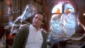 Dr. Harvey (Bill Pullman) tries to find out why the Ghostly Trio won't pass over. Again proving how great CGI animation can be
