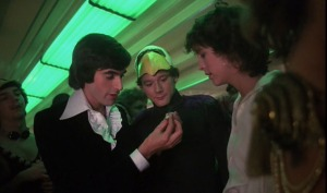 David Copperfield impressing party-goers in his first and only on-screen appearance.