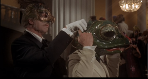 One of the many strange kills in The Abominable Dr. Phibes