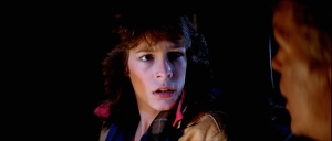 Scream-queen Jamie Lee Curtis in another Carpenter film? What are the odds?