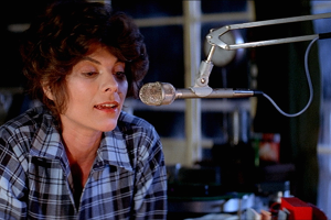 Adrienne Barbeau in his first on-screen appearance and what a delight she is.