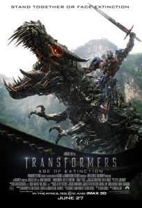 Well, the Dinobots look cool...shame they are not in the movie that long...
