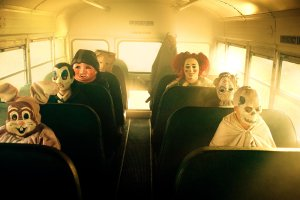"The victims of the 1977 ""Halloween School Bus Massacre."" A segment I'm sure viewers might feel disturbed by"