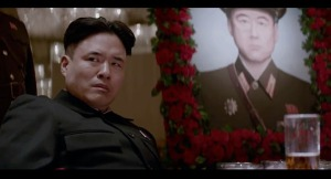 Randall Park as Kim Jong-un who is played as a kid and less of a fearless leader. The main source of controversy from this performance and how its handled is what set off the anger.