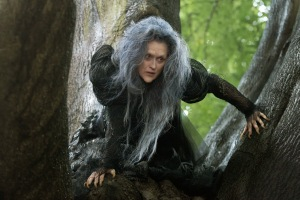 Meryl Streep as the Witch in one of the most over the top performances I've ever seen that is surprisingly enjoyable