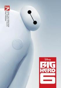 Baymax, one of the most original yet best robots put to film
