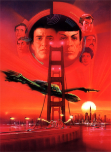 Nimoy returns to the director's chair for this good entry