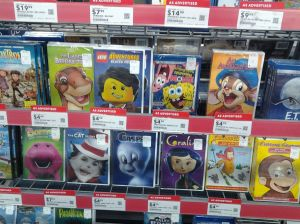 "On the shelves, come Universal's ""Happy Faces"" line of DVDs...I do question some of the choices...greatly"