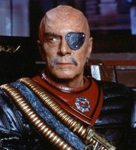 Christopher Plummer as a Klingon...nuff said