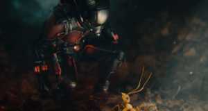 Scott Lang (Paul Rudd) tests out his new abilities as the Ant-Man in the latest fun romp from Marvel