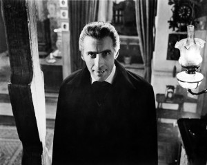 British actor Christopher Lee plays the vampiric Count in 'Dracula', 1958. (Photo by Silver Screen Collection/Getty Images)