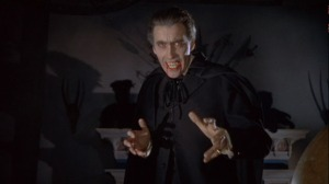 Christopher Lee IS Dracula!