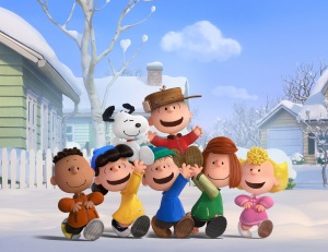 The Peanuts gang in their new big screen adventure!