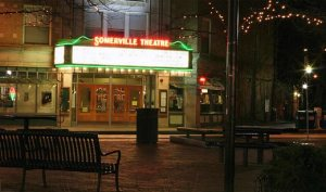 The incredible Somerville Theater. Worth a visit if your in the Boston area