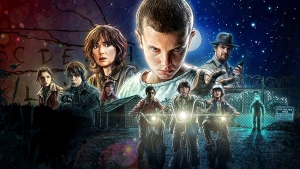 Stranger Things court Netflix