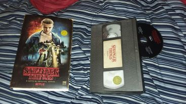 Stranger Things VHS Blu Ray DVD1